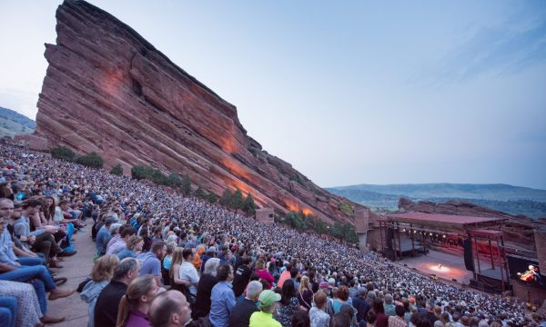 Audiences gather to hear the Bach cello suites at Red Rocks