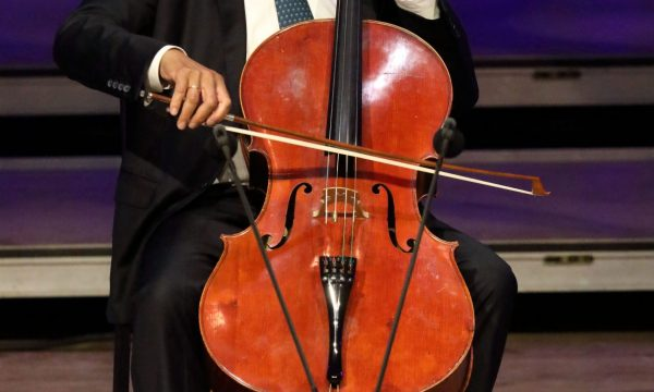 Yo-Yo Ma performs Bach's Six Cello Suites (Hilary Scott)