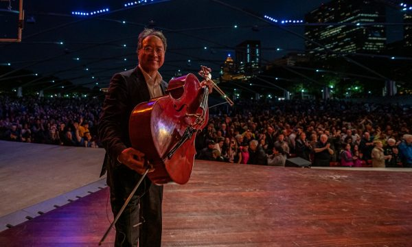 6/20/19 9:20:15 PM -- Symphony Center Presents Yo-Yo Ma performs the Bach Cello Suites at Millennium Park   © Todd Rosenberg Photography 2019