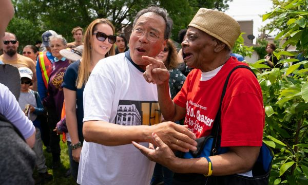 6/21/19 11:24:35 AM -- Yo-Yo Ma's Day of Action.    © Todd Rosenberg Photography 2019
